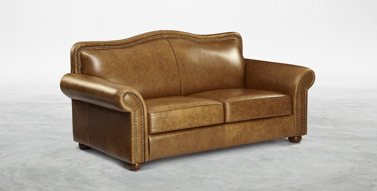 genuine Italian leather with a vintage finish