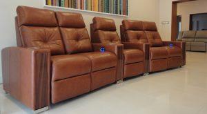 Brabus - Luxury Home Cinema 5 seater Row