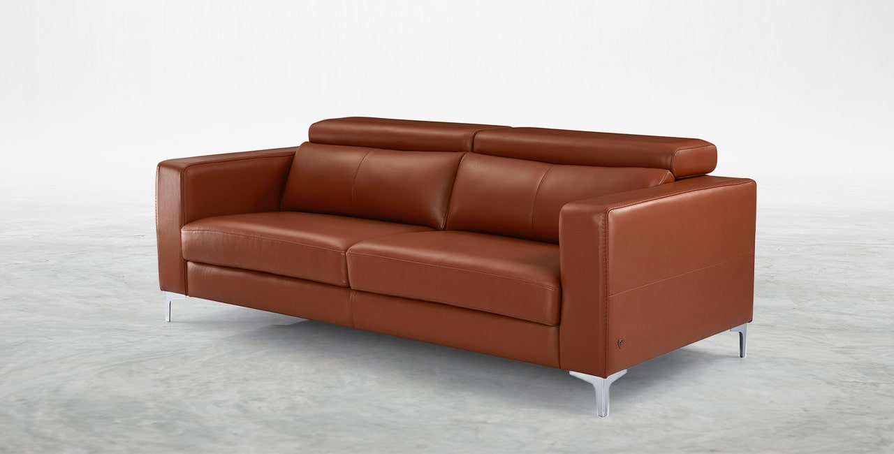 natural two-tone effect sofa