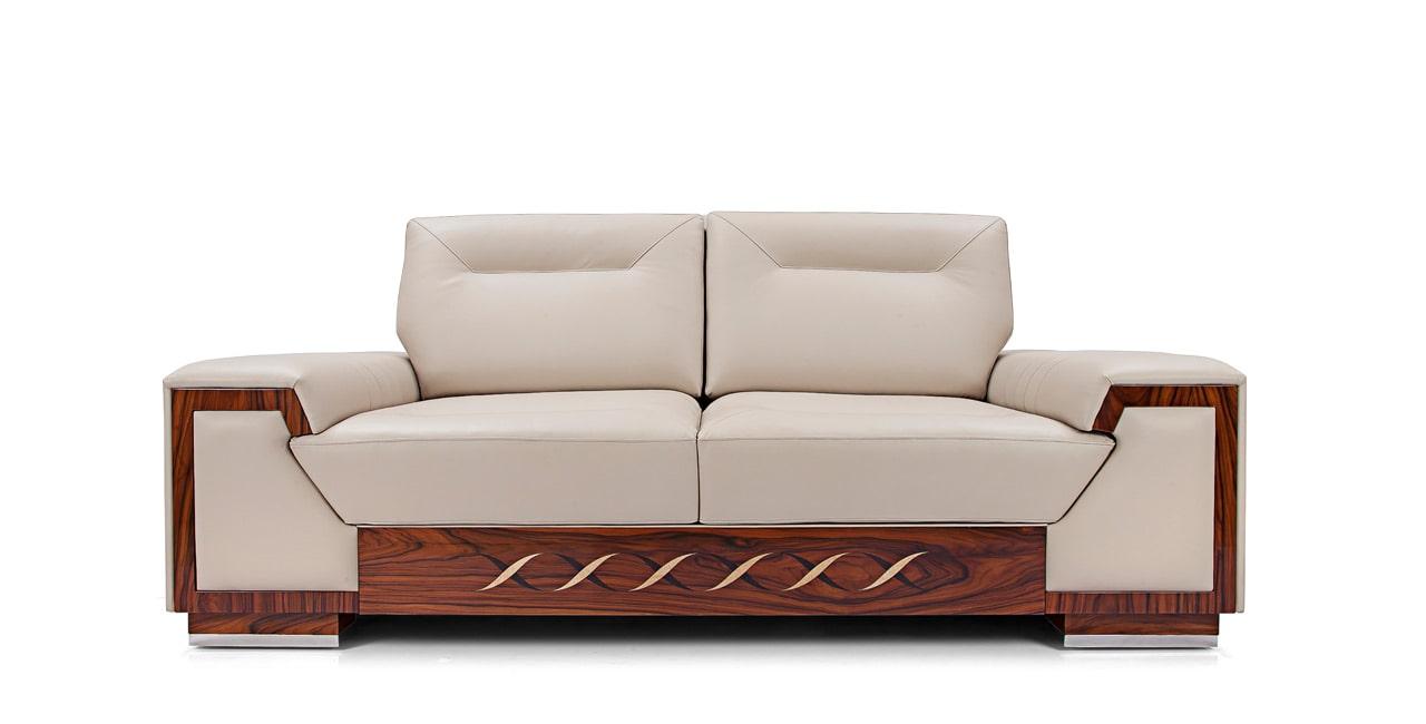 Solid wood frames and custom feet