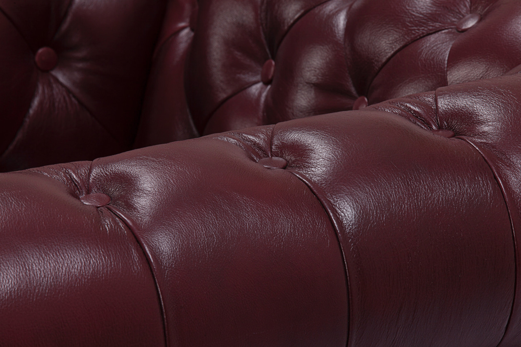 oxford red sofa zoom